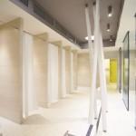 Duschvorhangstangen von PHOS Design aus Edelstahl