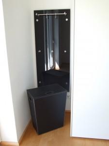 Garderobe mit PHOS Elementen