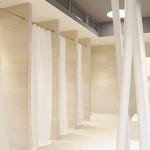 Kundenfoto: Nischen-Duschvorhangstangen