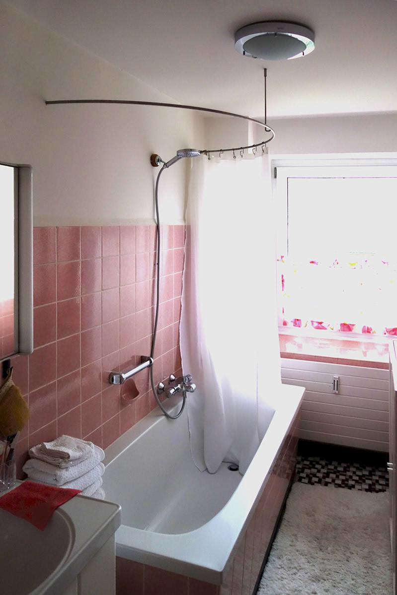 Stange Duschvorhang Badewanne