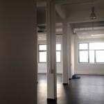 Rheinhafen Karlsruhe: PHOS Edelstahl Design - neues Büro entsteht