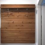 Foto: Egbert S aus Solingen - Garderobenhaken H20-140 an Holzpanel