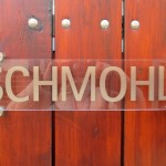 Foto: Druckerei Schmohl aus Berlin: Firmenschild aus Schilderhaltern SPH16-22 und Buchstaben von PHOS Design
