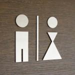Foto: Horst P. aus Buxtehude - WC Piktogramme von PHOS Design
