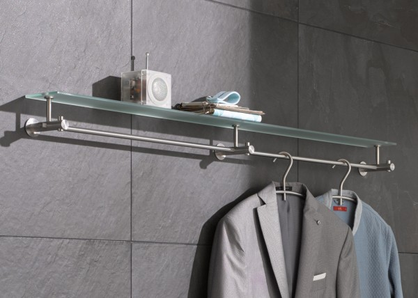 Flurgarderobe mit Glasablage G9 1200 von PHOS Design