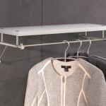Wandgarderobe mit Holz Ablage G3 600H von PHOS Design