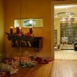 Der Adventskranz und die Mitarbeiter-Geschenke