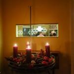 Der neue Adventskranz aus Edelstahl von PHOS Design