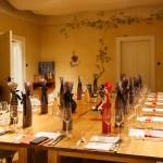 Feierlich gedeckter Tisch im Uhland 21 - Karlsruhe