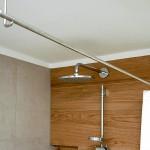 Foto: Gunnar H. aus Heidelberg - Freihängende Duschvorhangstange zur Deckenmontage