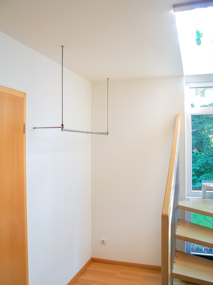 Garderobe aus edelstahl gallery of spinder design noa for Garderobe individuell