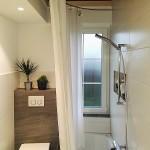 Foto: Stefan B. aus Blumenstein - gebogene Duschvorhangstange von PHOS Design