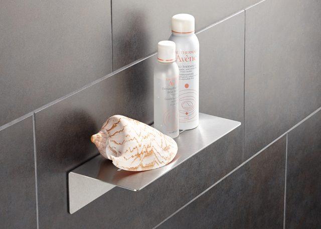 Neu: Duschablage zum Verkleben - PHOS Design