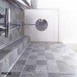 Kundenfoto: Christa D. - Duschvorhangstange mit Klebesets