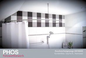 Kundenfoto: Sascha B., Hannover, Duschvorhangstange DR700HD