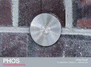 Kundenfoto: Stefan L., Adenbüttel, Klingelknopf KK75R