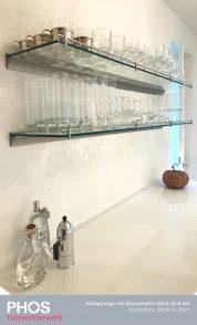 Sibylle A., Bern (CH) - Klemmhalter, Glasboards und Relingstangen