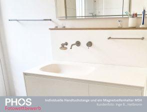 Inge B., Heilbronn - Handtuchstange und Seifenhalter MSH
