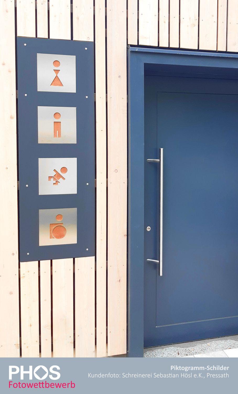 PHOS Design - Beschilderung für Sanitäranlagen