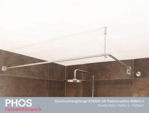 Stefan S., Filzbach - Duschstange DSE900 mit Kleberosetten RNB45-6
