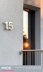 Mirko K., Auerbach - Hausnummer HN140 mit Befestigung BFVER (Bild 2)