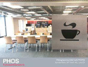 SPT Roth AG, Lyss - Piktogrammschild Cafe PS3701