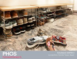 Familie T., Basel - Schuhbank GSB700-3