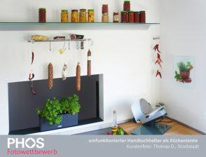 Thomas D., Stockstadt - Küchenhaken und Küchenleiste