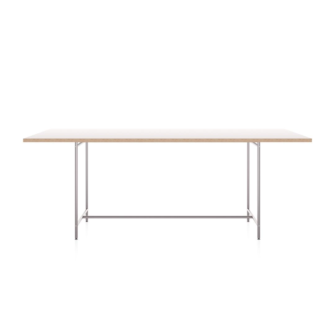Karlsruher Tisch K1 mit allseitig überstehender Tischplatte. Artikel-Nr.: KATI-K1-2000x1000