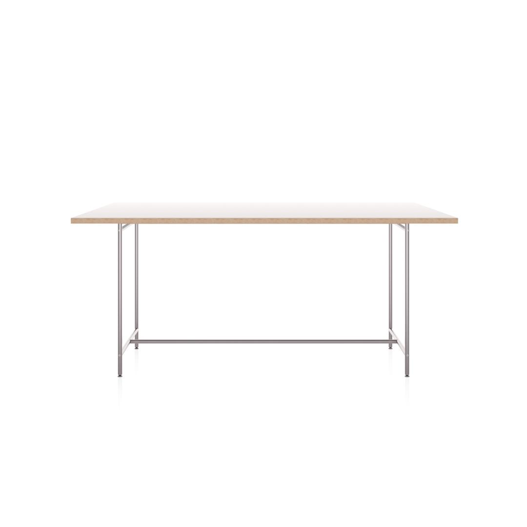 Karlsruher Tisch K1 mit allseitig überstehender Tischplatte. Artikel-Nr.: KATI-K1-1600x800