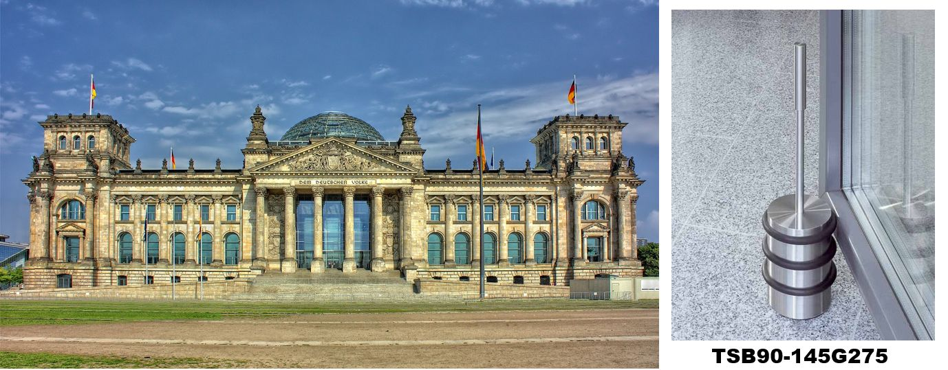 PHOS Türstopper im Deutschen Bundestag