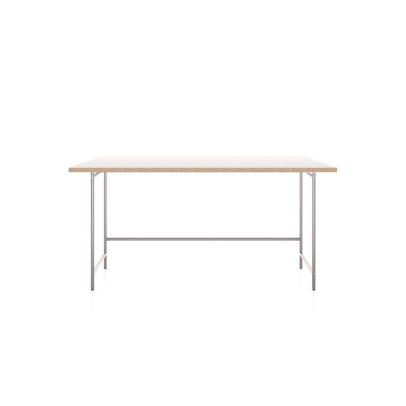 Karlsruher Tisch mit allseitig überstehender Tischplatte 180 x 90 cm. Artikel-Nr.: KATI-E1-160x80-MW