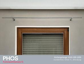 Oliver H., Würzburg - Vorhangstange VS20-100-1200