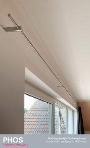 Wolfgang J., Möhnesee - Individuelle Vorhangstange mit Durchschleuderträgern (Vorhang kann an den Trägern vorbeigezogen werden)